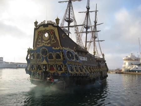 Spanish galleon in Hammamet Tunisia