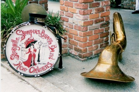 Storyville Stompers Brass Band Instruments Jazz Funeral New Orleans
