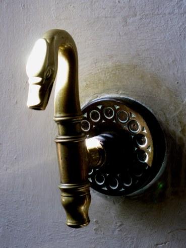 Swan water-tap Neuschwanstein Castle Bavaria