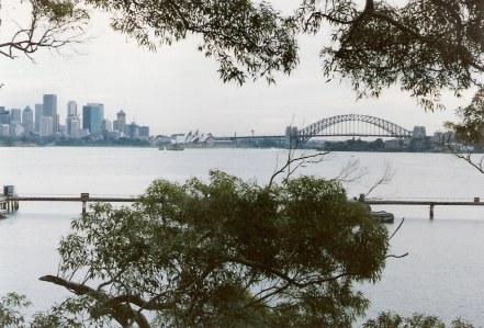 Sydney Harbour Bridge view from Bradley's Head
