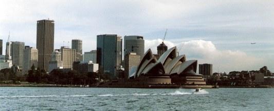 Sydney Opera House from Taronga Park Zoo ferry