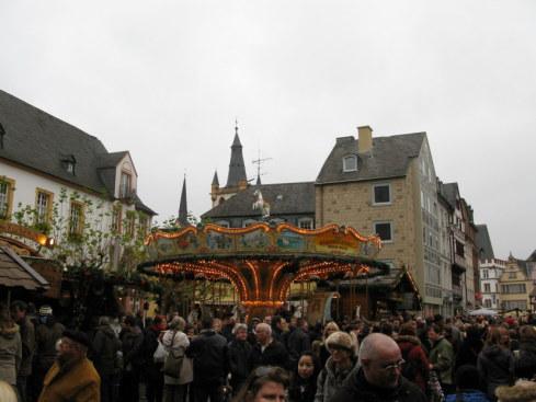 Trier Christmas Market carousel