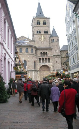 Trier Christmas Market entrance