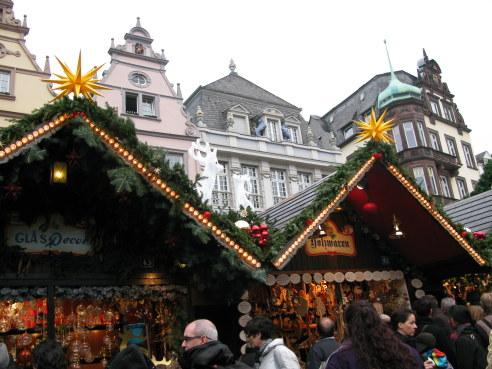 Trier Christmas Market medieval setting