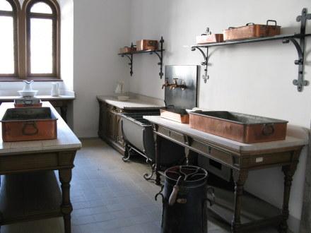Washing up room Neuschwanstein Castle Bavaria
