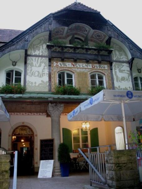 Zur-Neuen-Burg Restaurant by Neuschwanstein Castle