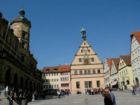 Rothenburg ob der Tauber market square